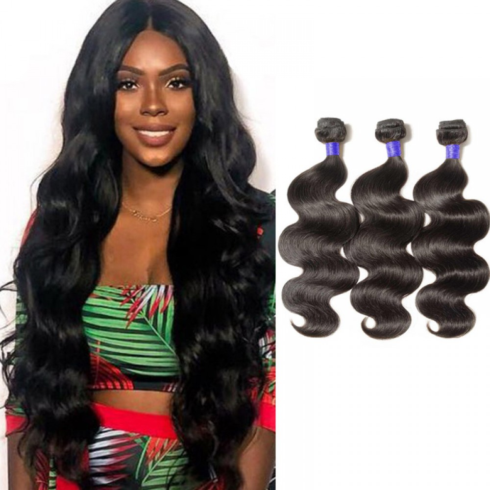 【 Segohair  8A 】3 Bundles Body Wave Virgin Peruvian Hair 300g