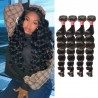 【 Segohair  8A 】4 Bundles Loose Wave Virgin Malaysian Hair 400g